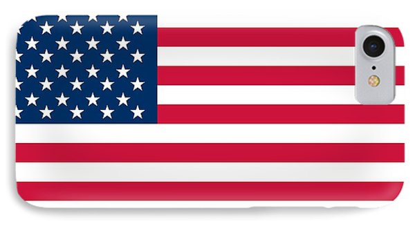 Flag Of The United States Of America IPhone Case by American School