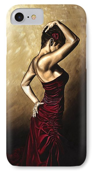 Flamenco Woman IPhone Case by Richard Young