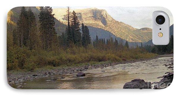 Flathead River Phone Case by Richard Rizzo