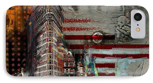Flatiron Building 207 1 IPhone Case by Mawra Tahreem