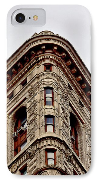 Flatiron Building Detail IPhone 7 Case by Sandy Taylor