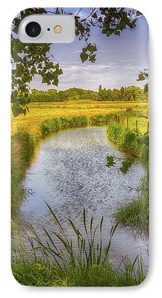 Flemish Creek IPhone Case by Wim Lanclus