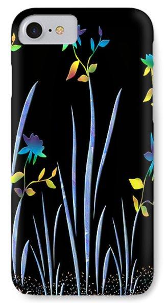 Flower Dance Phone Case by Kurt Van Wagner