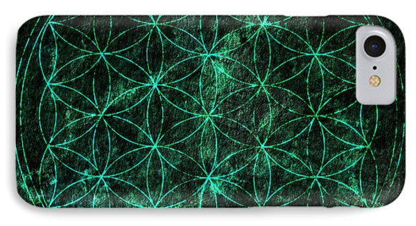Flower Of Life 1 IPhone Case by Edouard Coleman