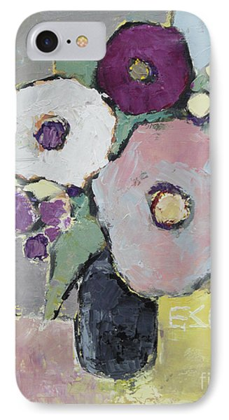 Flowers 1602 IPhone Case by Becky Kim