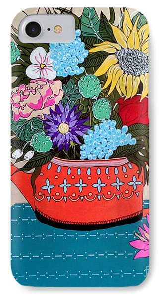Flowers IPhone Case by Amy Sorrell