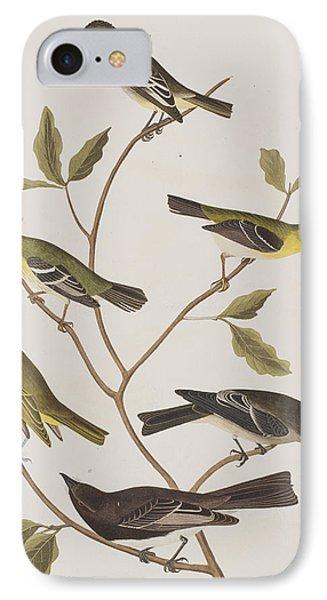 Fly Catchers IPhone Case by John James Audubon