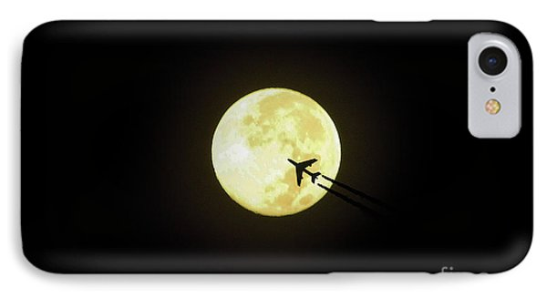 Fly Me To The Moon IPhone Case by D Hackett