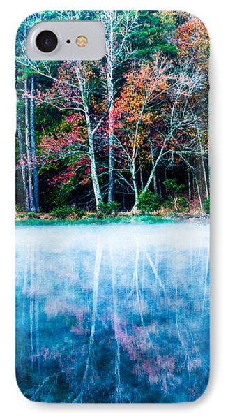 Fog On The Lake Phone Case by Parker Cunningham