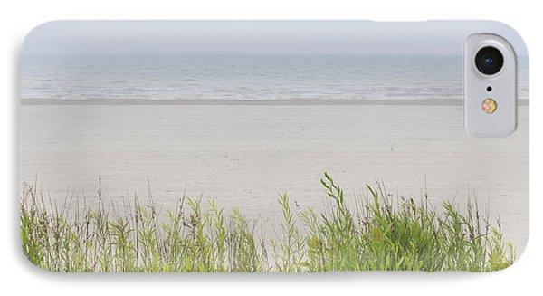 Foggy Beach IPhone Case by Elena Elisseeva