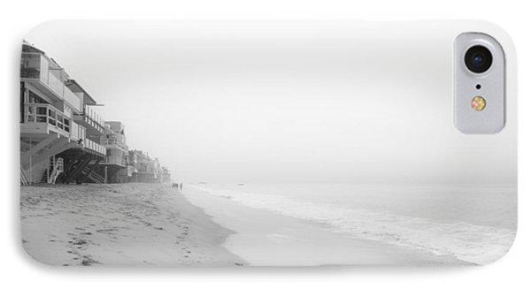 foggy Malibu Beach  Phone Case by Ralf Kaiser