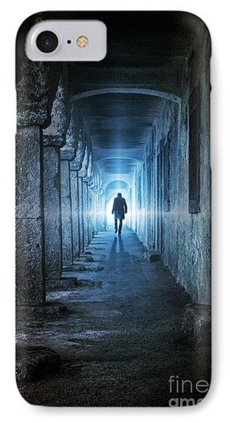 Following The Light IPhone Case by Carlos Caetano