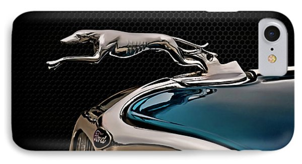 Ford Blue Dog IPhone Case by Douglas Pittman