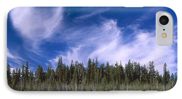 Forest And Sky - Big Dry Meadow IPhone Case by Soli Deo Gloria Wilderness And Wildlife Photography