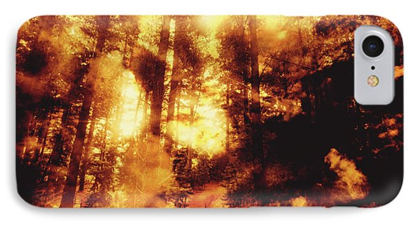 Forest Fires IPhone Case by Jorgo Photography - Wall Art Gallery