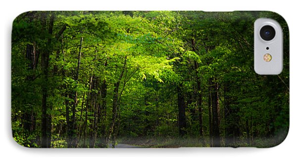 Forest Path IPhone Case by Parker Cunningham