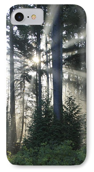 Forest Sunrise Phone Case by Crista Forest