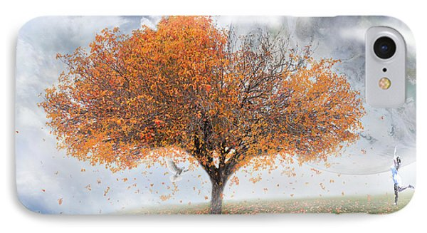 Forever Autumn IPhone Case by Kume Bryant