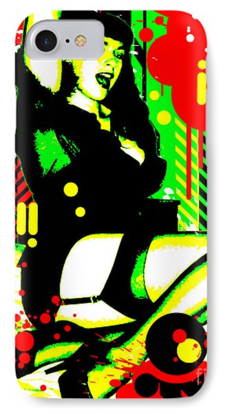 Forever Pinup I Phone Case by Chris Andruskiewicz