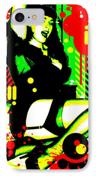 Forever Pinup I IPhone Case by Chris Andruskiewicz