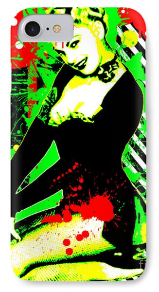 Forever Pinup IIi IPhone Case by Chris Andruskiewicz
