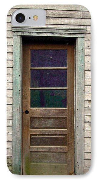 Forgotten Door IPhone Case by Douglas Barnett