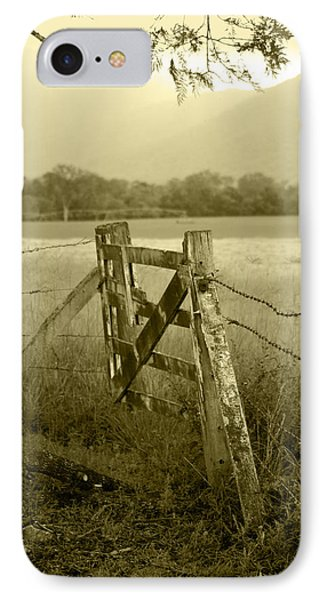 Forgotten Fields IPhone Case by Holly Kempe