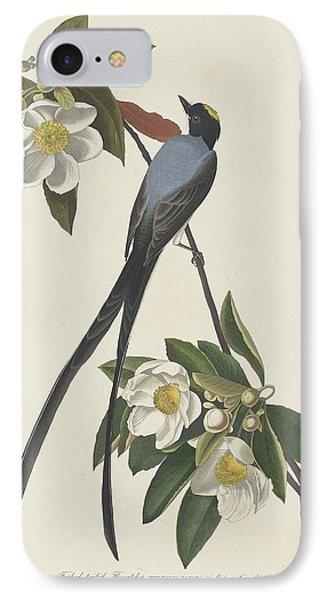 Forked-tail Flycatcher IPhone 7 Case by John James Audubon