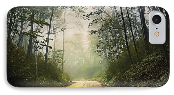 Forsaken Road IPhone Case by Scott Norris