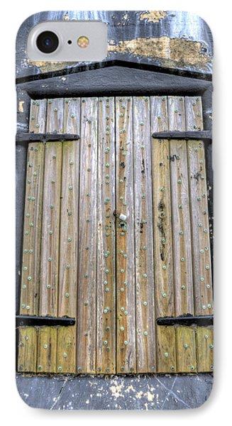 Fort Moultrie Bunker Door IPhone Case by Dustin K Ryan