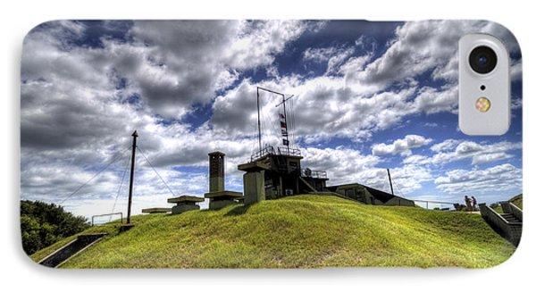 Fort Moultrie Bunker IPhone Case by Dustin K Ryan