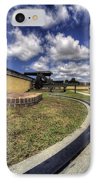 Fort Moultrie Cannon Rails IPhone Case by Dustin K Ryan