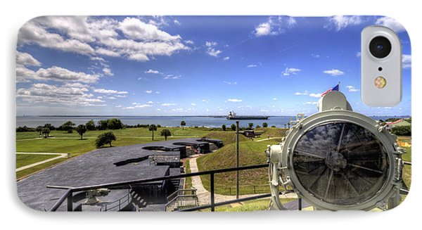 Fort Moultrie Signal Light IPhone Case by Dustin K Ryan