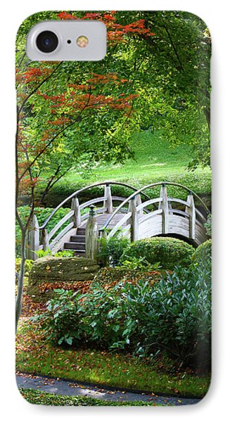Fort Worth Botanic Garden IPhone Case by Joan Carroll