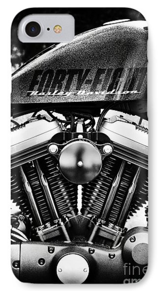 Forty Eight IPhone Case by Tim Gainey