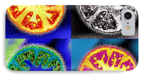 Four Tomatoes IPhone Case by Nancy Mueller