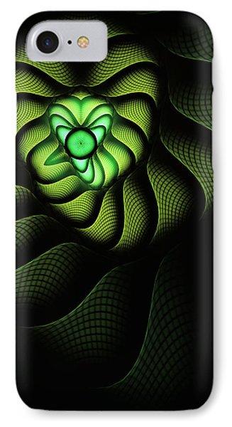 Fractal Cobra IPhone Case by John Edwards