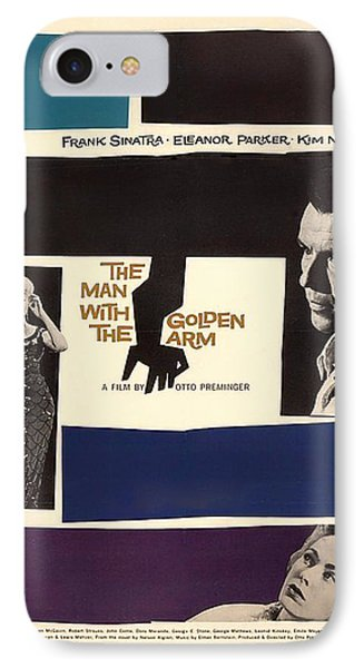 Frank Sinatra In The Man With The Golden Arm 1955 IPhone Case by Mountain Dreams