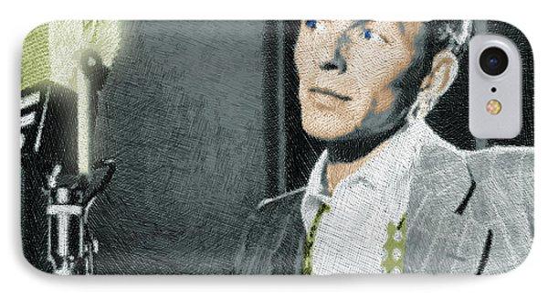 Frank Sinatra IPhone Case by Tony Rubino