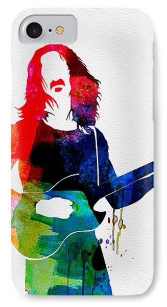 Frank Watercolor IPhone Case by Naxart Studio