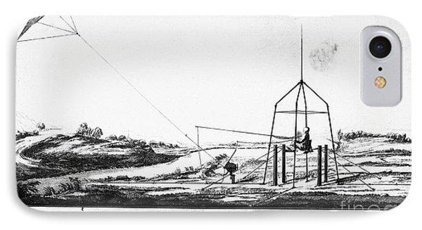 Franklin: Kite, 1788 Phone Case by Granger