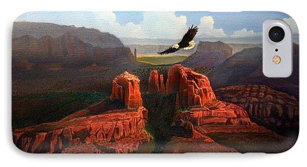 Freedom IPhone Case by Jerry Bokowski