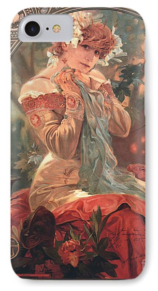 French Biscuit Ad 1904 IPhone Case by Padre Art