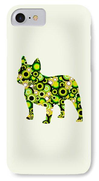 French Bulldog - Animal Art Phone Case by Anastasiya Malakhova