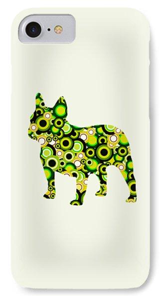 French Bulldog - Animal Art IPhone Case by Anastasiya Malakhova