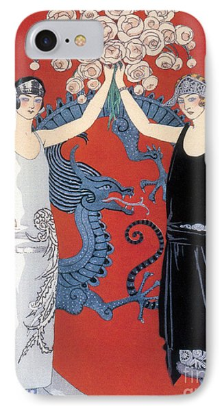 French Fashion, George Barbier, 1924 IPhone Case by Science Source