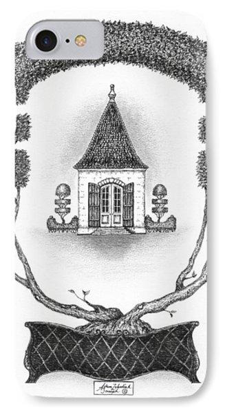 French Garden House Phone Case by Adam Zebediah Joseph