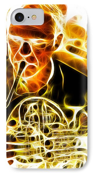 French Horn Phone Case by Stephen Younts