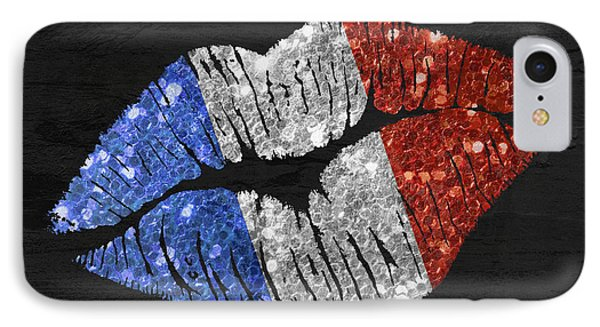French Kiss IPhone Case by Mindy Sommers