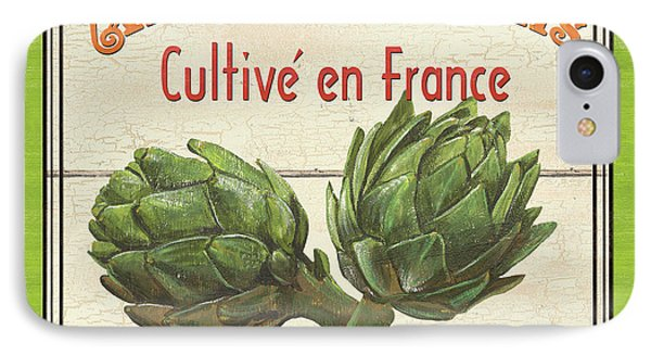 French Vegetable Sign 2 IPhone 7 Case by Debbie DeWitt